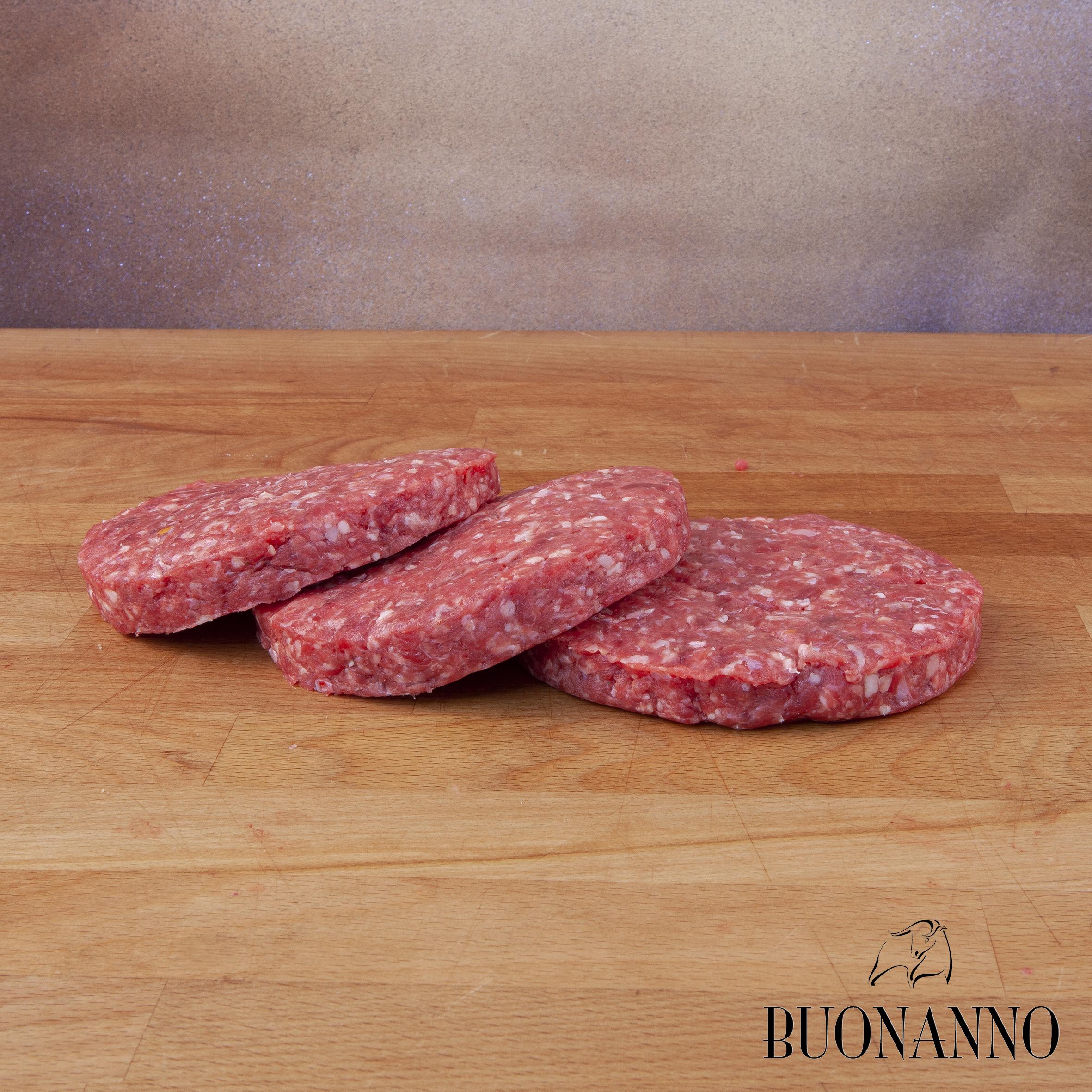 Hamburger di Scottona - Pezzata Rossa