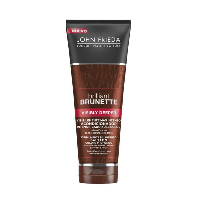 John Frieda Brilliant Brunette Visibly Deeper Colour Deepening Conditioner 250ml