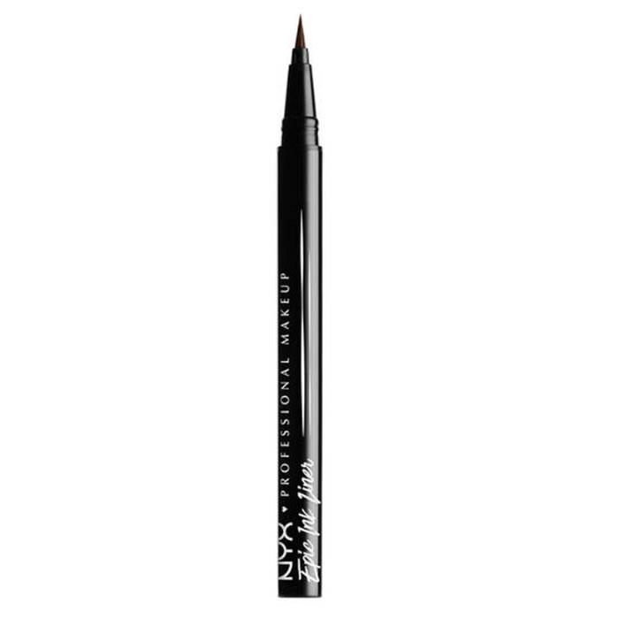 Nyx Epic Ink Liner Eyeliner Waterproof Brown 1ml
