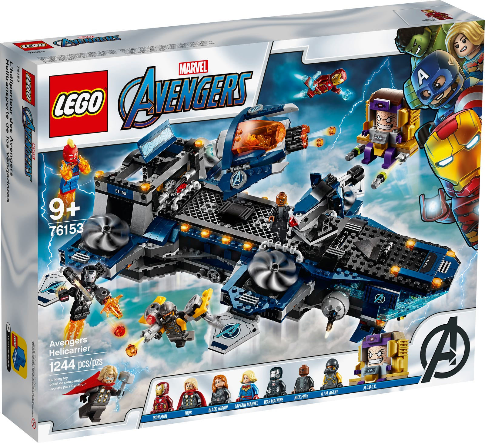 LEGO SUPER HEROES HELICARRIER DEGLI AVENGERS 76153
