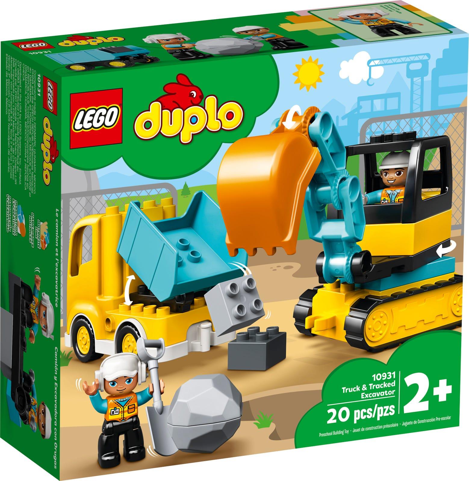 LEGO DUPLO CAMION E SCAVATRICE CINGOLATA 10931