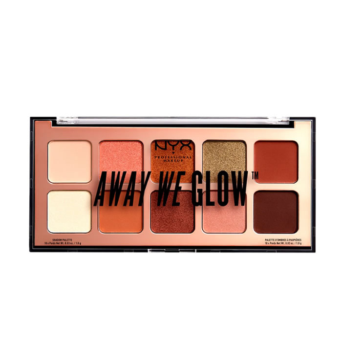 Nyx Away We Glow Shadow Palette Hooked On Glow