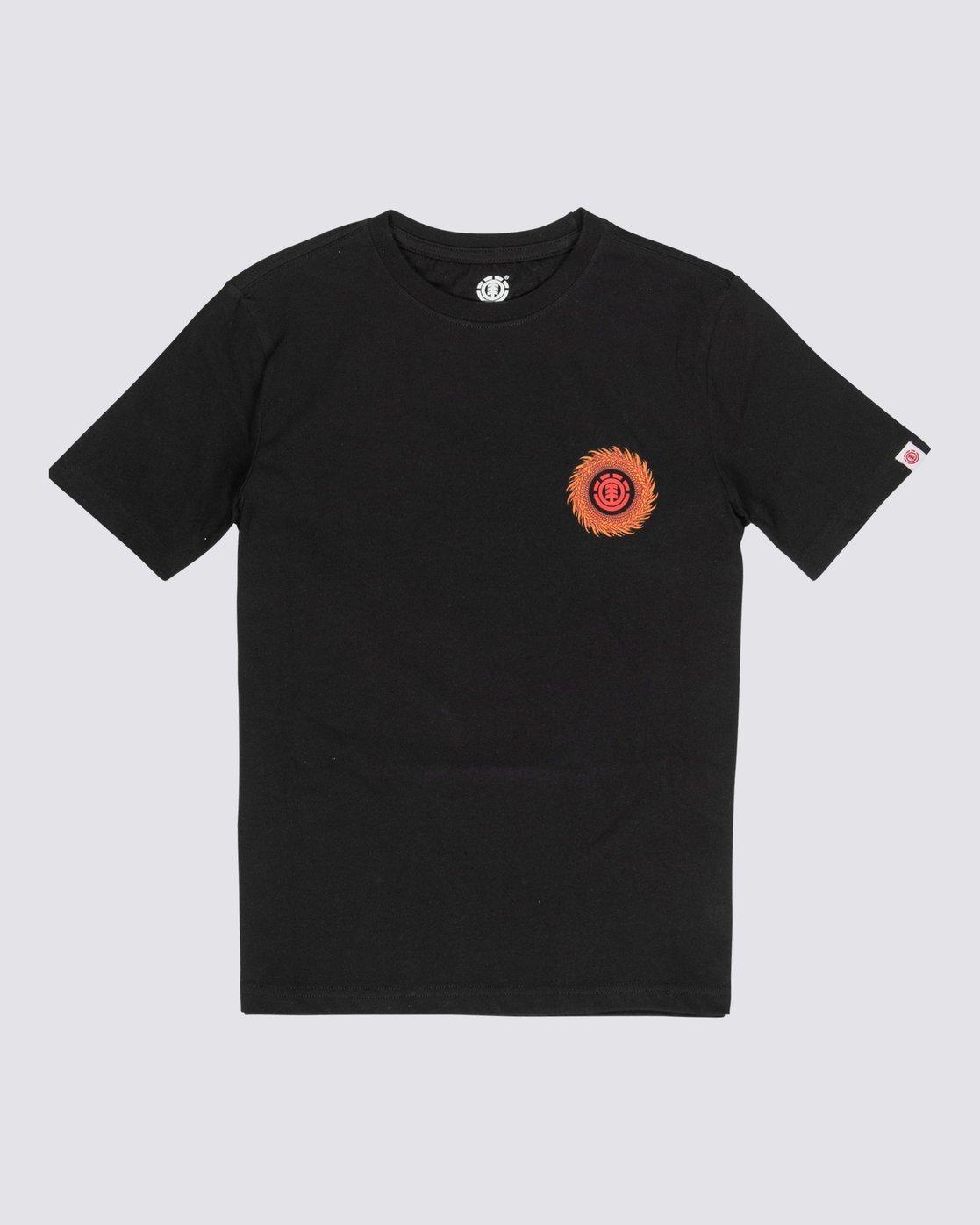 T-Shirt Element Florian Flint Black
