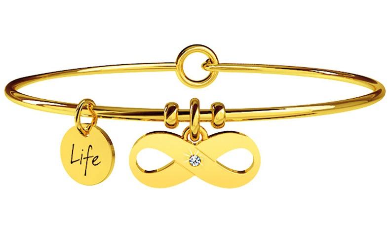 Kidult Bracciale Symbols, Life, INFINITO | BELLEZZA