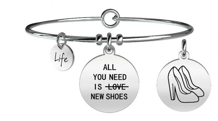 Kidult Bracciale Irony, Life, ALL YOU NEED IS...