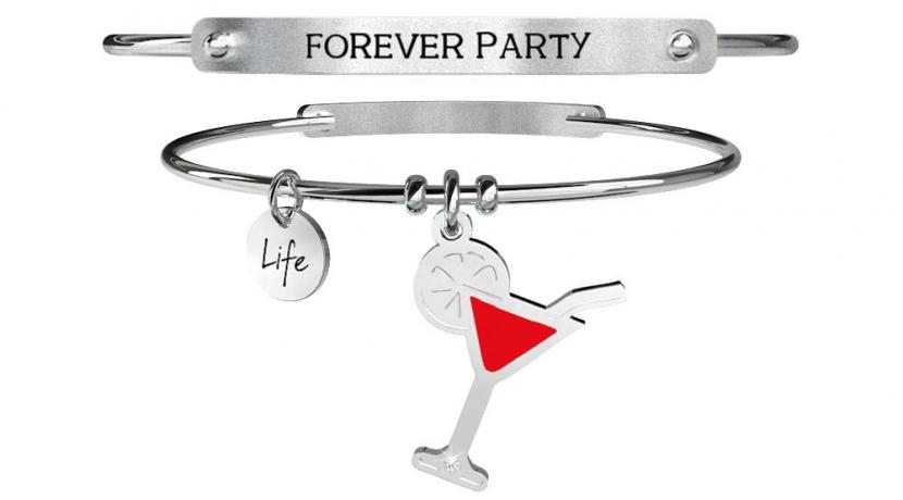 Kidult Bracciale Free Time, Life, COCKTAIL | FOREVER PARTY