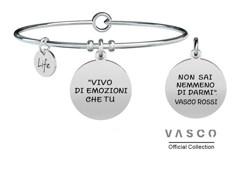 Kidult Bracciale Free Time, Life, Vasco official Collection REWIND