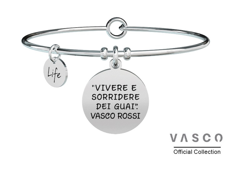 Kidult Bracciale Free Time, Life, Vasco Collection - VIVERE