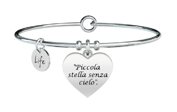 Kidult Bracciale Free Time, Life, Ligabue official Collection PICCOLA STELLA SENZA CIELO