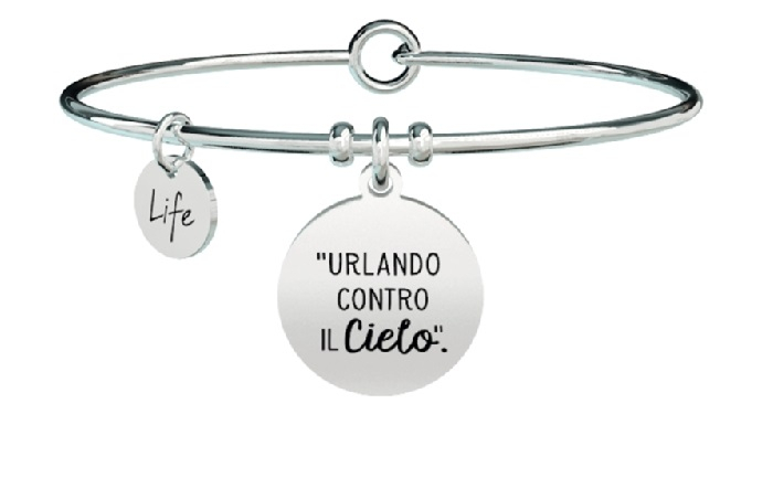 Kidult Bracciale Free Time, Life, Ligabue official Collection (Urlando contro il cielo)