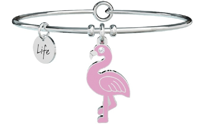 Kidult Bracciale Animal Planet, Life (flamingo)