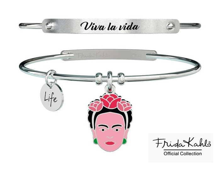 Kidult Bracciale Philosophy, Life, Frida Kahlo official Collection (Viva la vida)