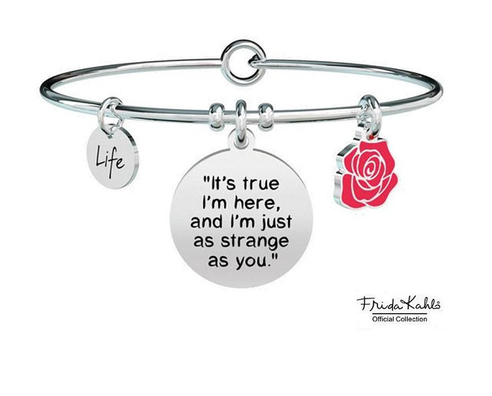 Kidult Bracciale Philosophy, Life, Frida Kahlo official Collection (It's true I'm here...)