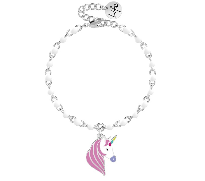 Kidult Bracciale Symbols, Life (Unicorno   Desideri)