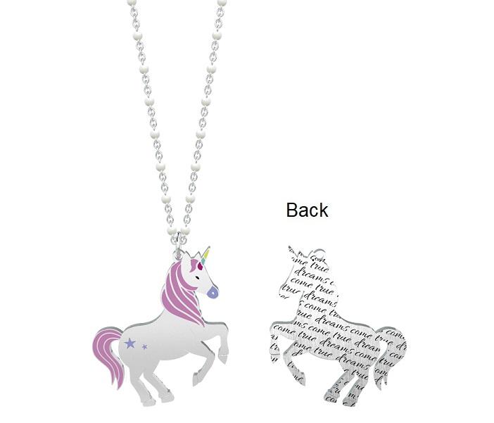 Kidult Collana Symbols, Life (Unicorno | Desideri - Lung. 80 cm)
