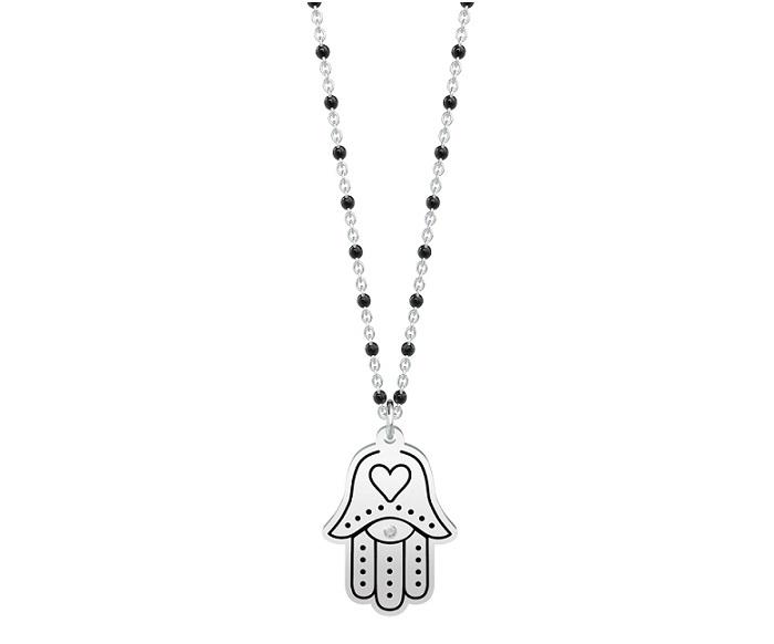 Kidult Collana Spirituality, Life (Mano di Fatima - Lung. 80 cm)