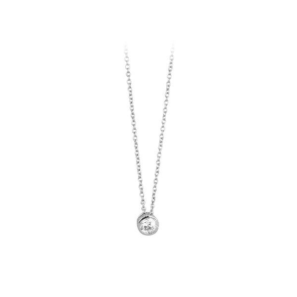 Mabina Collana Argento - Punto luce 4 mm