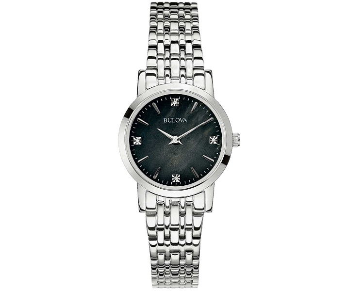 Bulova Orologio Classic Diamonds (Quadrante nero con Diamanti)