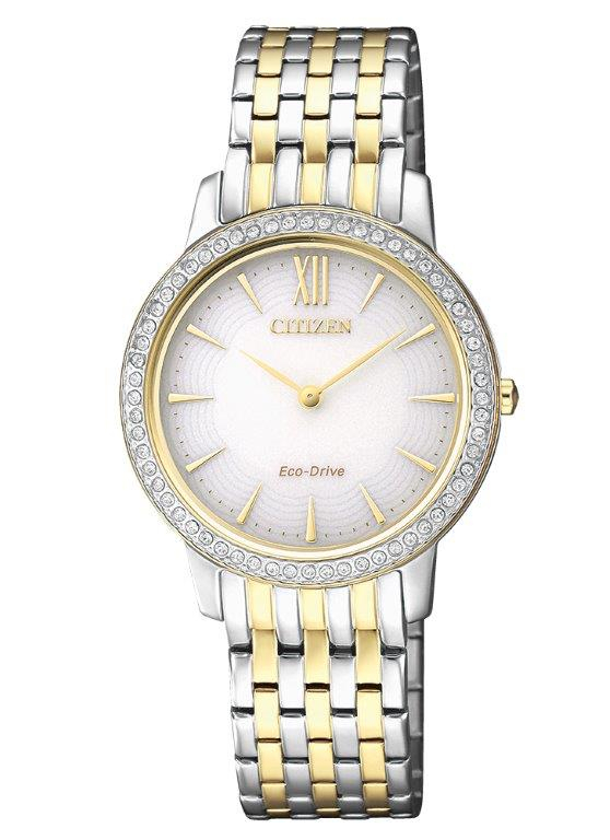 Citizen Lady Collection (Cassa acciaio, quadrante bianco)