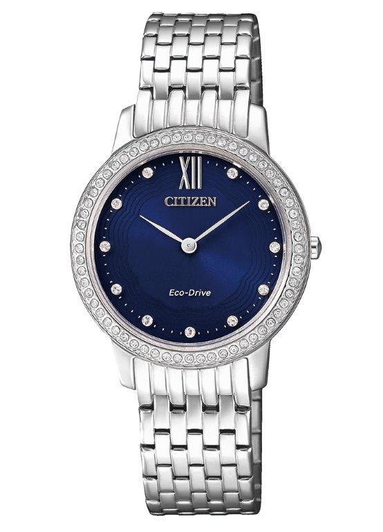 Citizen Lady Collection (Cassa acciaio, quadrante blu)