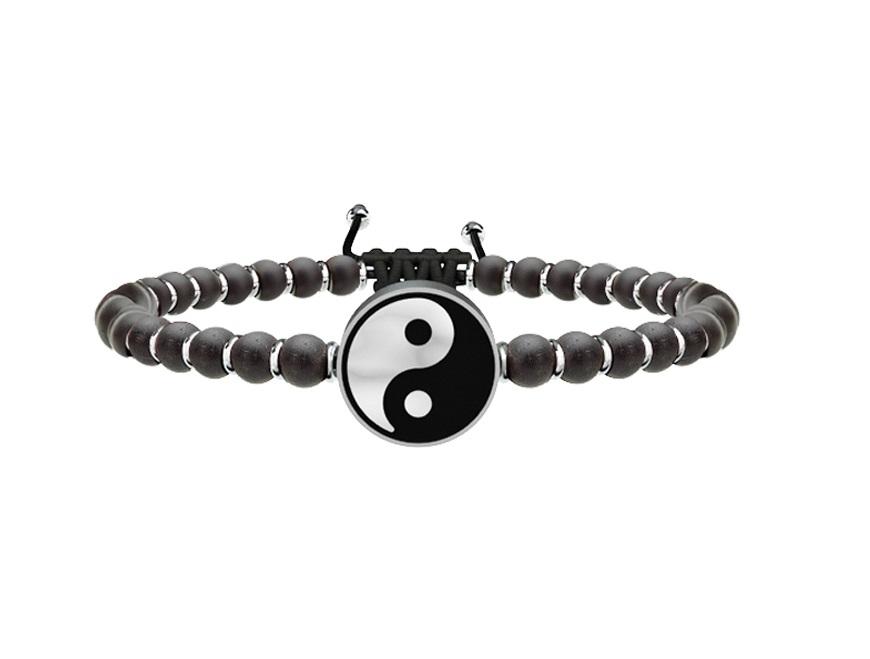 Kidult Bracciale Uomo Spirituality, Life (Yin e Yang)