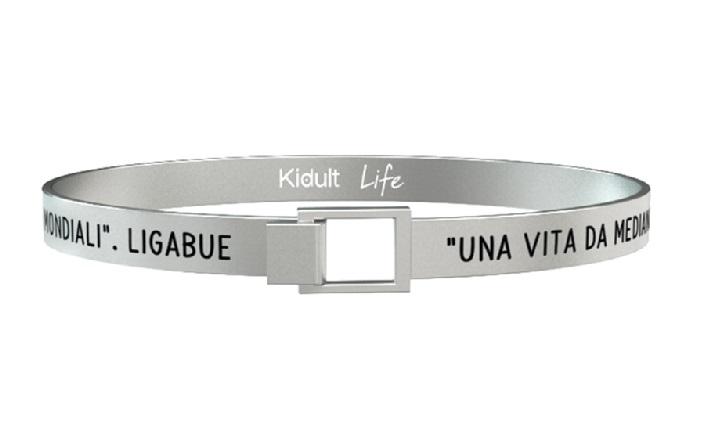 Kidult Bracciale Free Time, Life, Ligabue official Collection (Una vita da mediano)