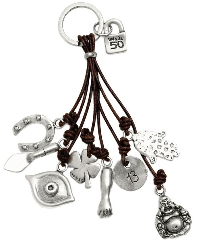 UNOde50 Portachiavi Amuleto