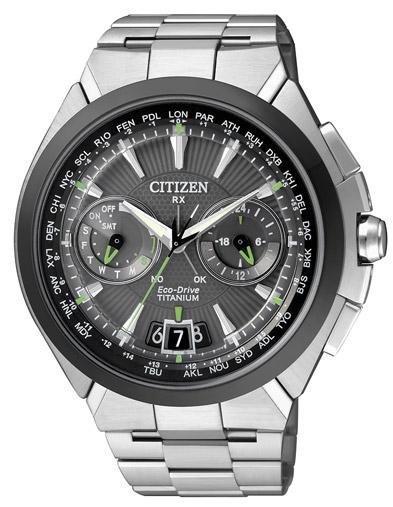 Citizen Satellite Wave H950 Cassa e bracciale in supertitanio