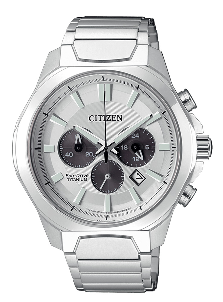 Citizen Crono Super Titanio 4320 Quadrante Silver
