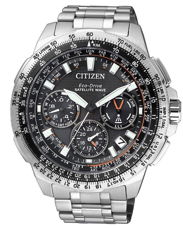 Citizen Satellite Wave Promaster GPS Cassa e bracciale super titanio Duratect