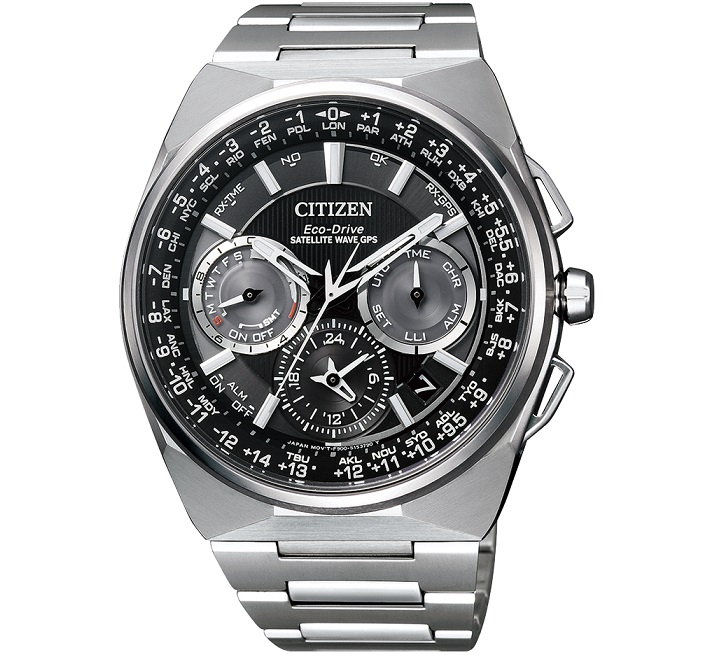 Citizen Satellite Wave F900 GPS Cassa e bracciale in supertitanio