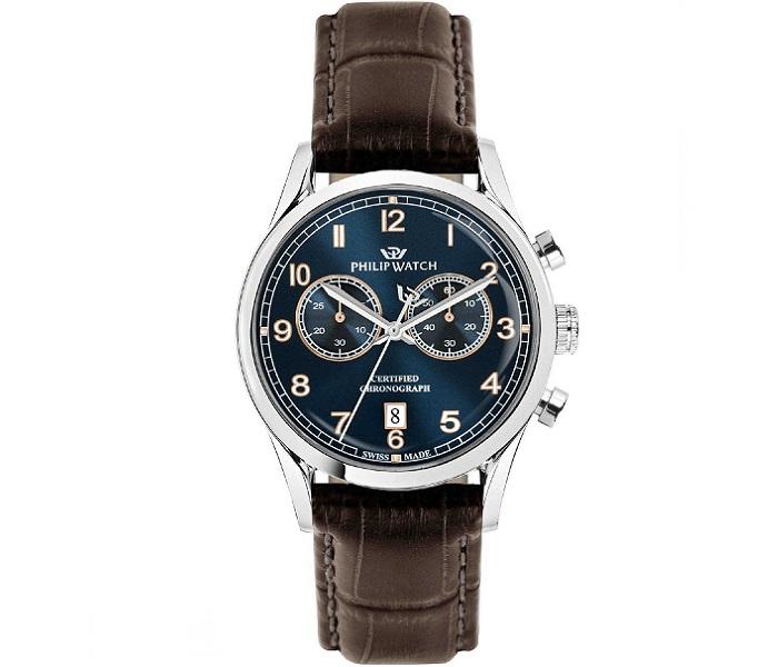 Philip Watch Sunray (Crono al Quarzo, quadrante blu)