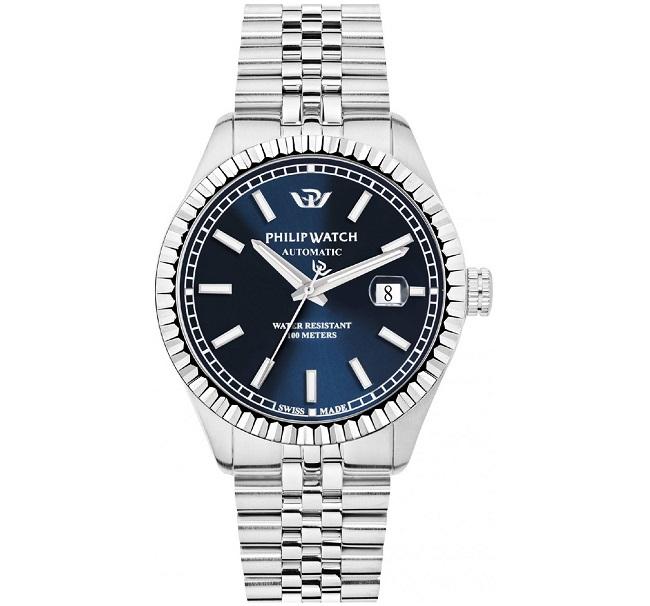 Philip Watch Caribe (Meccanico automatico, quadrante blu)