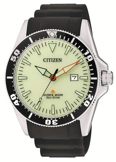 Citizen Diver's 200 mt Eco-Drive (Cinturino poliuretano)
