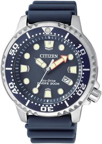 Citizen Diver's 200 Mt. (Quadrante blu, cinturino gomma)