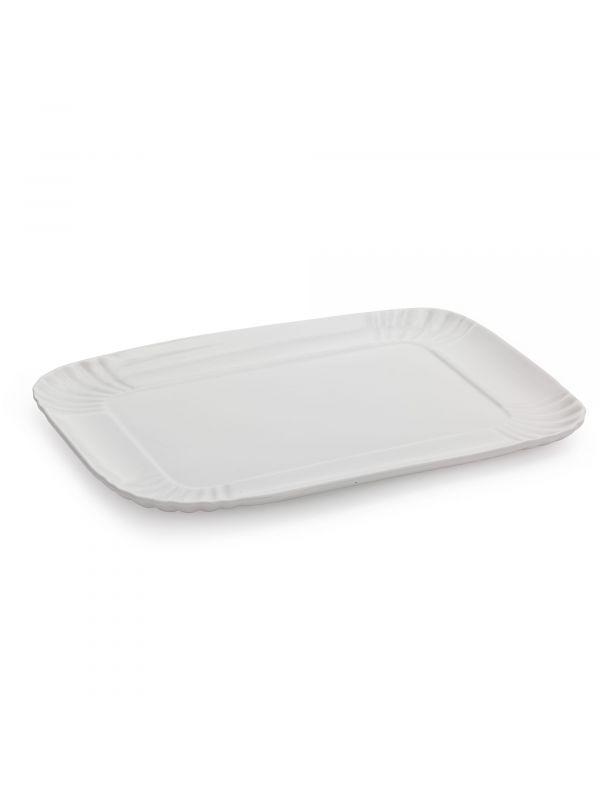 Vassoio in porcellana bianca cm26x34 di Seletti