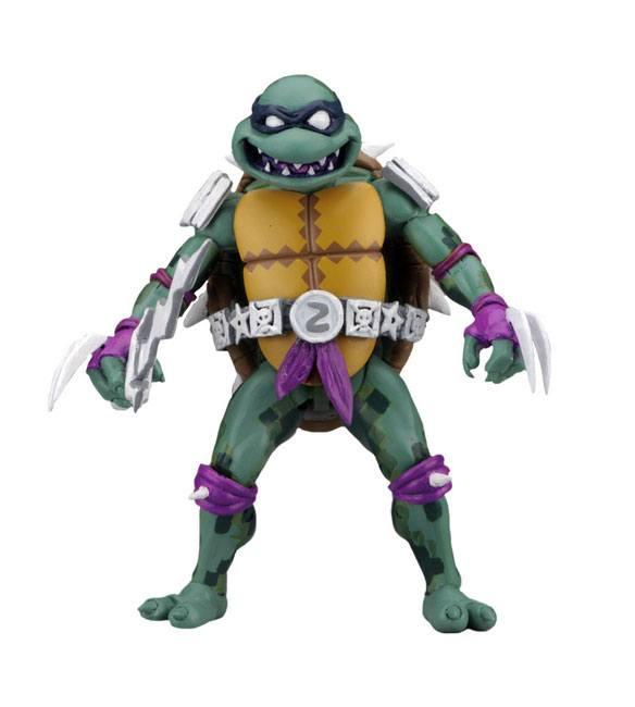 Teenage Mutant Ninja Turtles: Turtles in Time Action Figures Series 1 SLASH by Neca