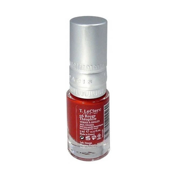 T.Leclerc Nail Polish 06 Ruge Theophil 5ml