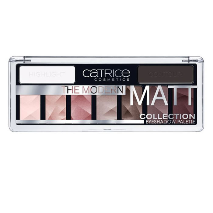 Catrice The Modern Matt Collection Eyeshadow Palette 010 The Must Have Matts