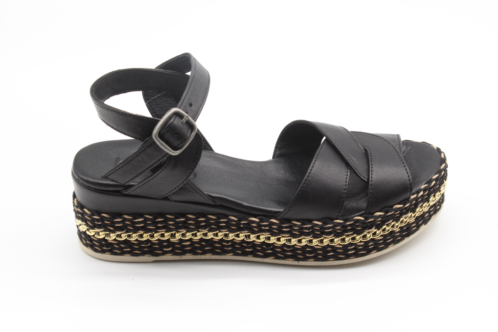 Sandalo zeppa Donna BUENO