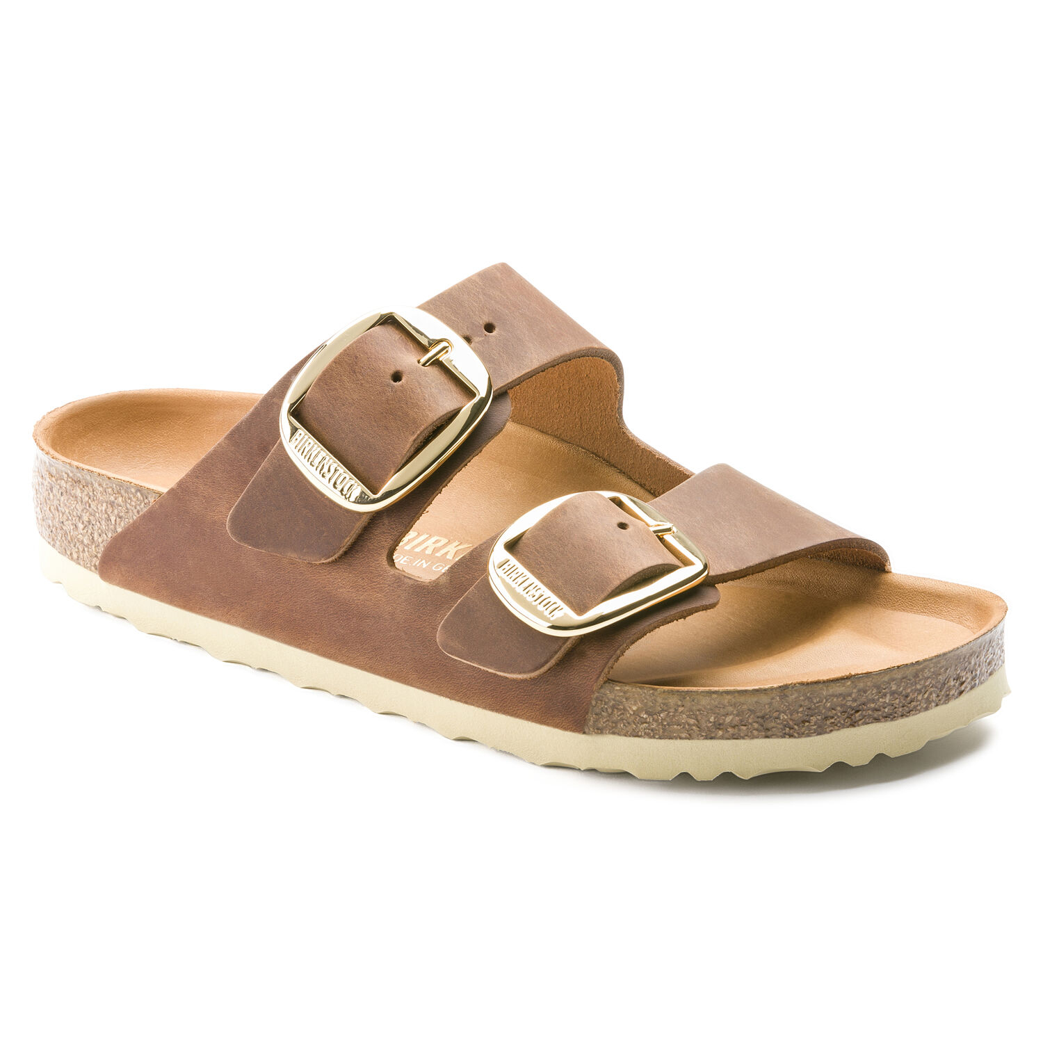 Ciabatte donna BIRKENSTOCK ARIZONA COGNAC BIG BUCKLE