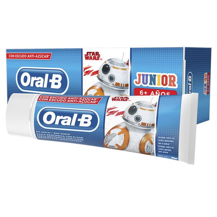 Oral-B Junior Luxe Glamorous White Toothpaste 75ml