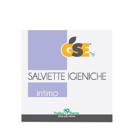 GSE Intimo Salviette Igieniche 20 Bustine Monouso