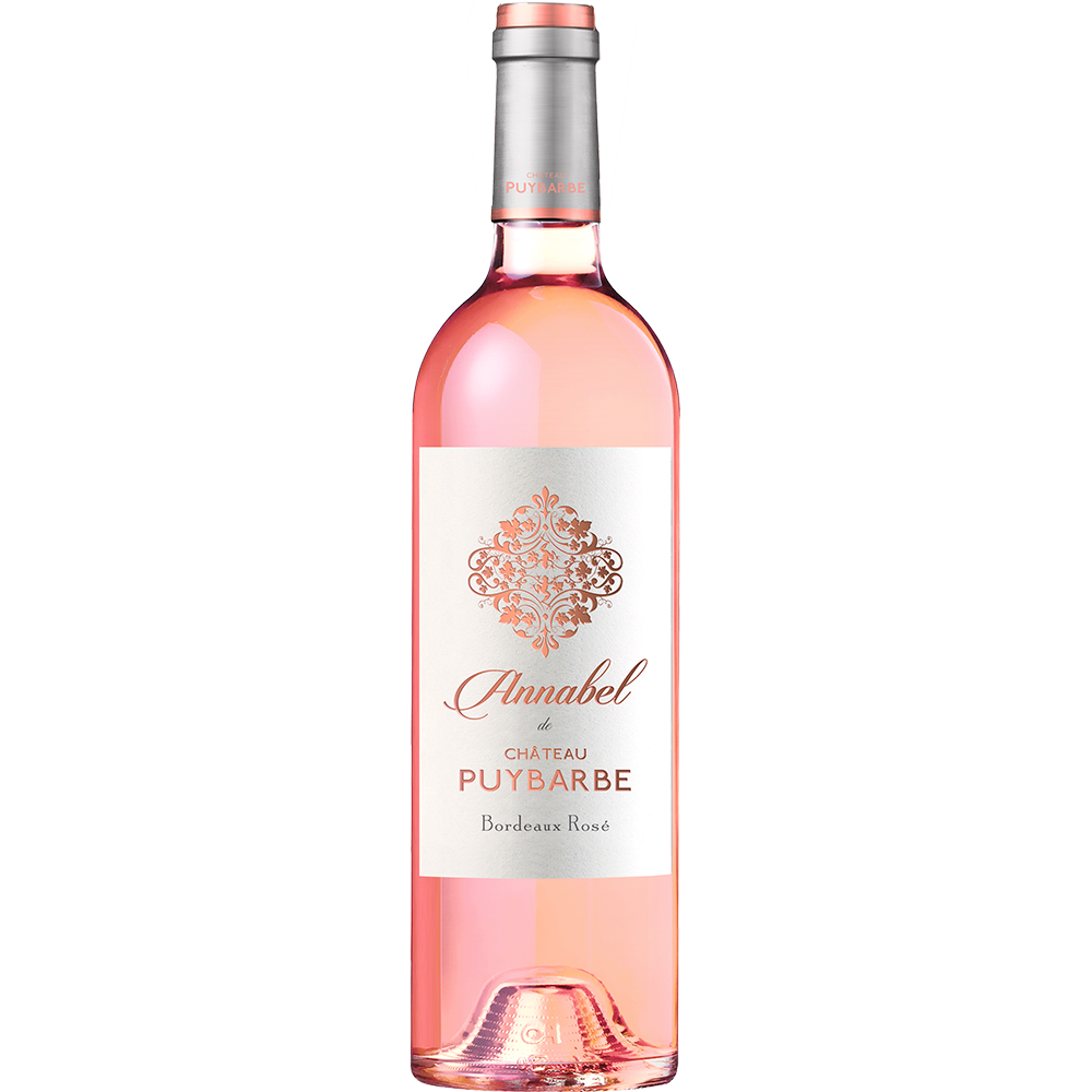 Annabel de Château Puybarbe - AOC Cotes de Bourg Bordeaux Rosè 2020