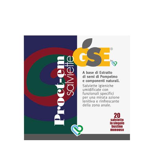 GSE Proct-em 20 Salviette Monouso