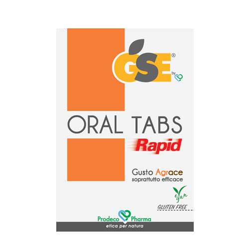 GSE Oral Tabs Rapid 12 Compresse