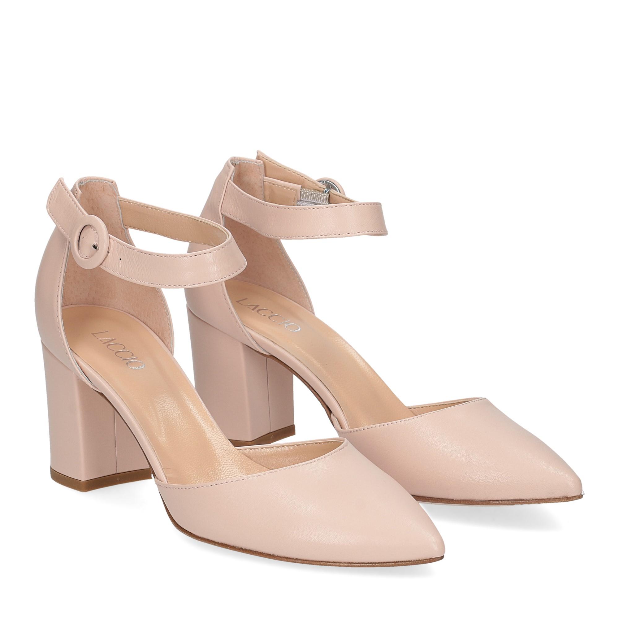 Il Laccio sandaliera 1357 pelle rosa