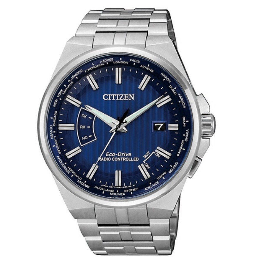 Citizen H804 quadrante blu, cassa acciaio