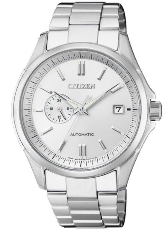 Citizen Meccanico automatico cassa acciaio quadrante Silver