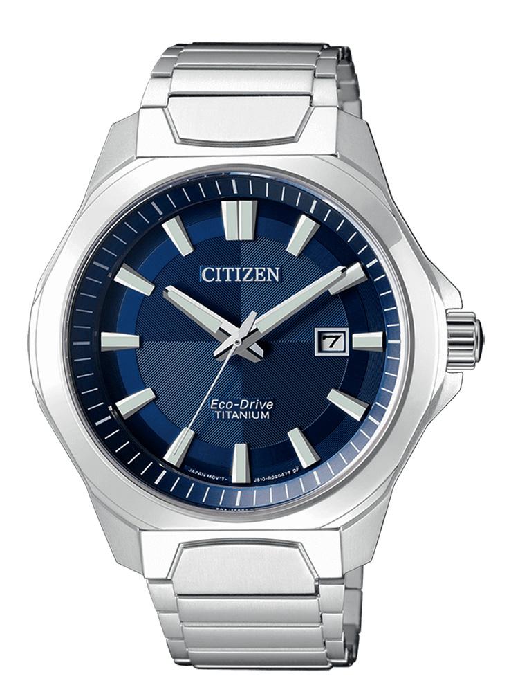 Citizen uomo supertitanio 1540 Quadrante blu